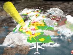 美國原始設備制造商探索提高機載氣象雷達性能的新技術