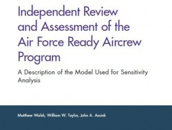 兰德报告:对空军机组人员就绪计划的独立审查和评估——灵敏度分析模型