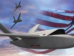 美國新無人機大玩狼群戰術,一架戰斗機控制多架無人機,用多打一