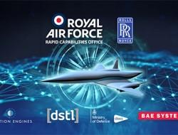 羅羅公司為英國皇家空軍開發高馬赫數飛機發動機技術