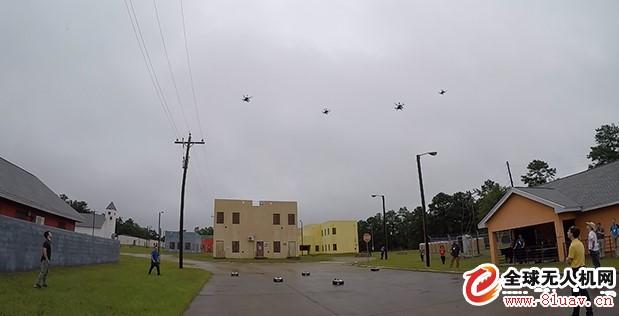 DARPA自主无人机蜂群项目完成第二次城市环境外场试验