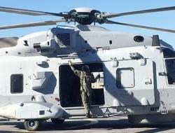 瑞典军队接收最后一架NH90直升机