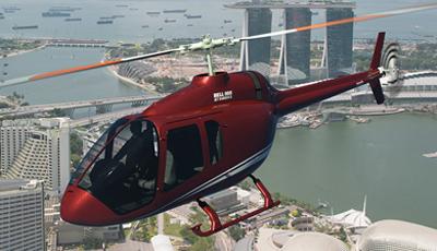 """贝尔505""""喷气突击队员X""""直升机飞行时间超过2万小时"""