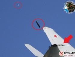 俄罗斯米格-35D战斗机在莫斯科航展飞行表演时出现机翼面板脱落