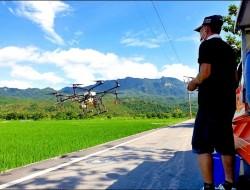无人机喷药夯 台东纵谷业者引进逾30架