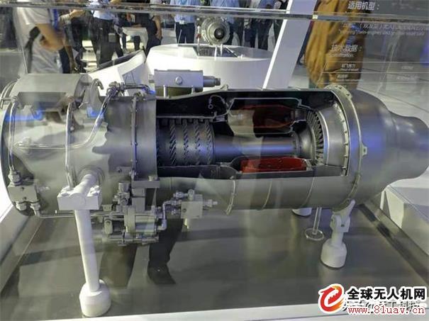 国产500千克级涡扇发动机亮相北京航展,双发版云影无人机用的就是它