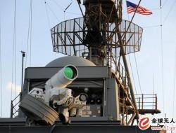 """美国海军""""波特兰""""号船坞登陆舰正在装备150千瓦激光武器系统"""