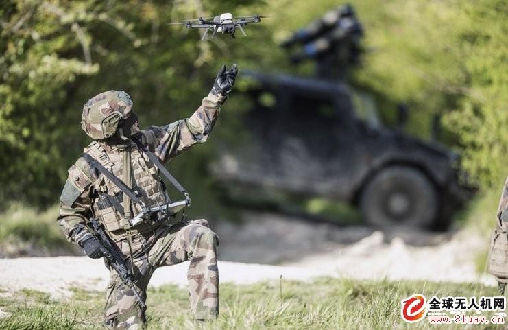 法国接收最后一批NX70微型无人机