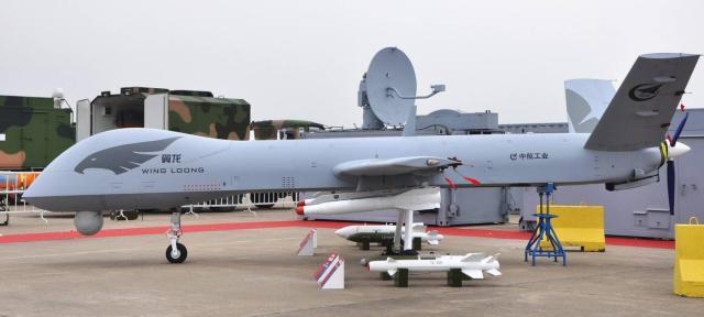 中国军用无人机畅销十三国