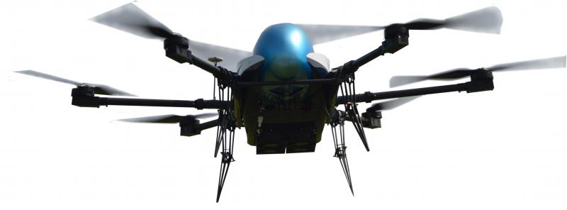 长航时氢动力多旋翼无人机