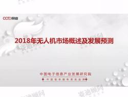 2021年中国工业级无人机市场规模将达296.4亿元