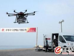 韓國放寬無人機管制,爭取2025年實現無人機快遞商用化