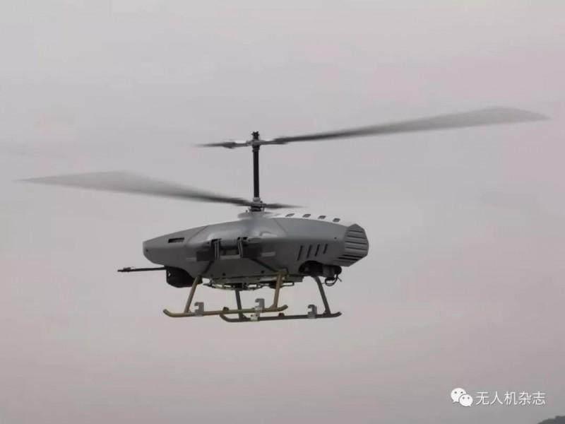 150公斤载重无人直升机