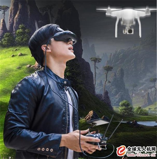 酷睿视GOOVIS Pro头戴显示器,让无人机画面也能有影院级体验