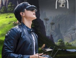 酷睿視GOOVIS Pro頭戴顯示器,讓無人機畫面也能有影院級體驗