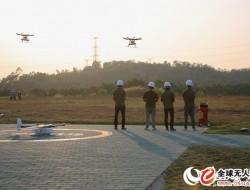 华南地区首家无人机测试场在深圳龙岗建成投入使
