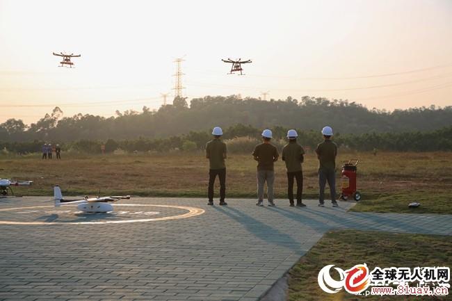 首家无人机测试场在深圳龙岗建成投入使用
