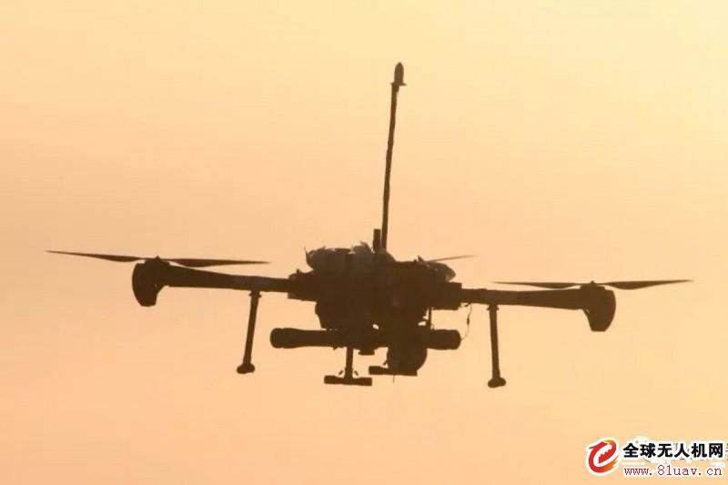 中国科技公司测试用于近距离打击的城市无人攻击机