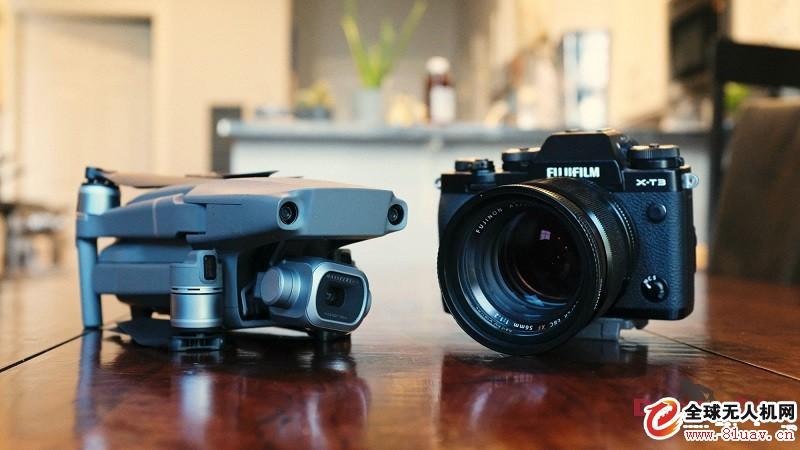 富士X-T3相机与大疆无人机合作