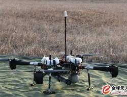 """""""天羿""""小型察打一体无人机顺利完成空地打靶试验"""