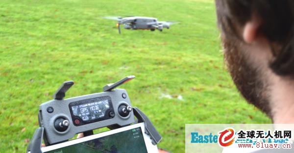 无人机飞行应用程序意味着农民可以不走田间地头就检查庄稼