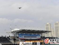 浙江警方玩转空中黑科技 小身材无人机外挂超多