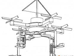 无人机发明专利:一种防倾倒小型运载无人机