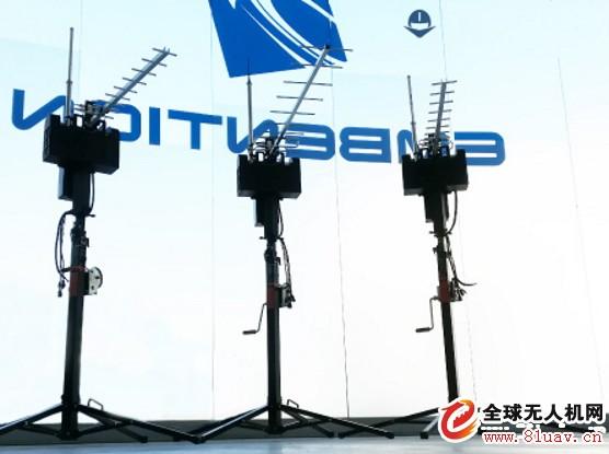 推出新型的BVLOS无人机跟踪天线