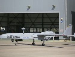 以色列IAI在新加坡航展上推出蒼鷺MK II無人機