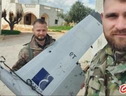 在伊德利卜发现被击落的土耳其无人机