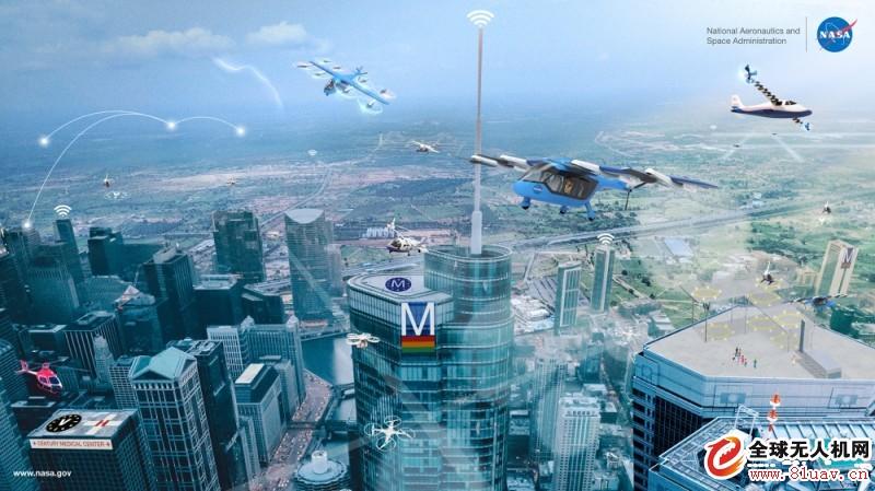 美国国家航空航天局将城市空中交通改为先进空中交通