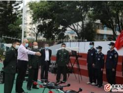 深圳市国动委领导一行到访深圳科卫泰,肯定国防动员建设工作成果