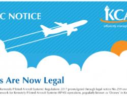 肯尼亚终于批准无人机运营