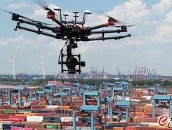 无人机空中检查自动化码头