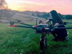 加拿大无人机每月种植40,000棵树