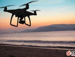 使用无人机来监测加纳的海岸侵蚀