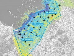 景观设计师使用无人机收集加拉帕戈斯群岛的地理空间数据