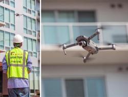 纽约市议会探索在墙面立面检查中使用无人机