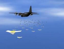 """美海军设想更疯狂的""""超级蜂群"""":一百万架战斗无人机,且空海两栖"""