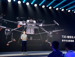 DJI大疆农业发布两款植保无人机T30和T10