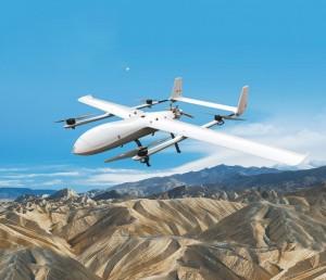 赤龙-850(CL-850)15kg载荷油电混合垂直起降复合翼无人机