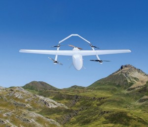 纯电垂直起降固定翼无人机(CL-8)