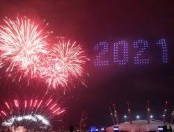 伦敦大型无人机灯光表演的幕后花絮