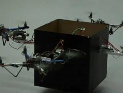 美国佐治亚理工学院开发多架无人机协同运输重物的控制系统