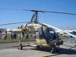 俄罗斯计划开发无人驾驶型卡-226直升机