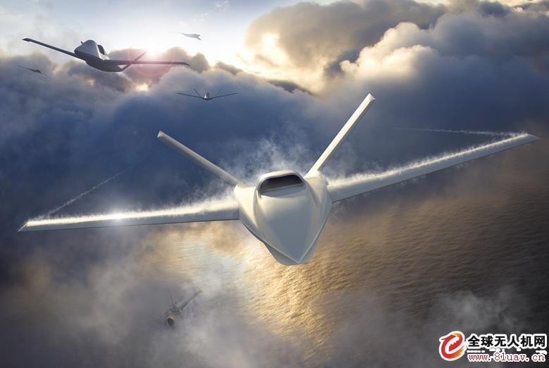 诺格公司公布Model 437无人机概念图