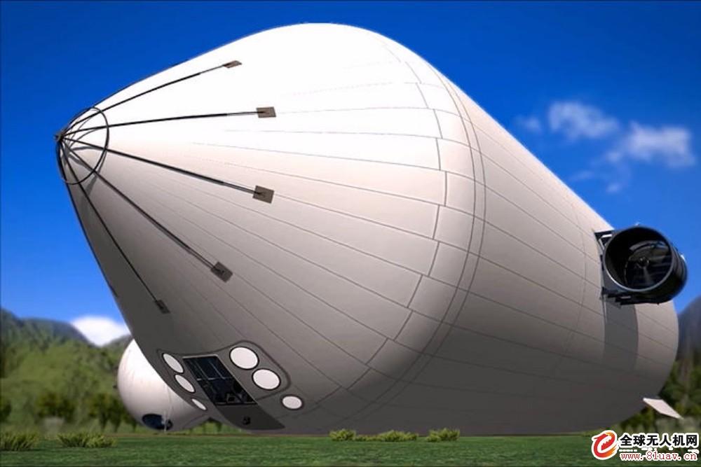 无人机公司完成美国空军MA 600飞艇放飞前系统测试